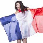 Photo du produit Poncho polyester drapeau français 90 x 150 cm