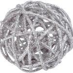 Photo du produit Assortiment boules pailletées Argent