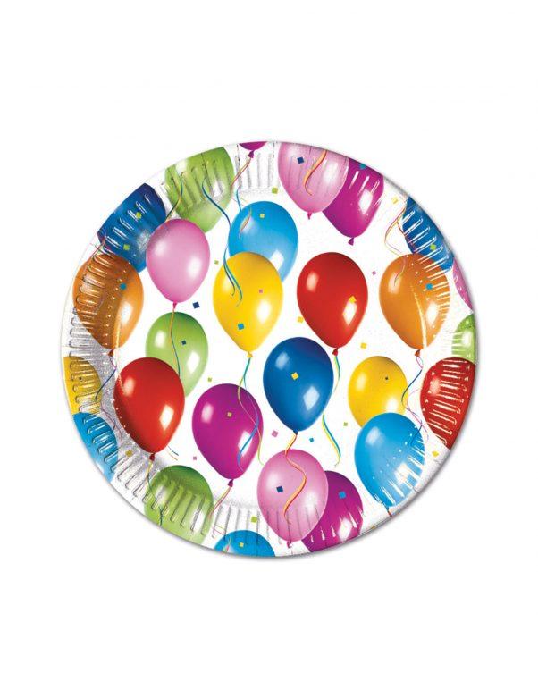 Photo du produit 10 Assiettes ballons volants