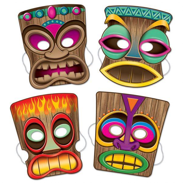 Photo du produit 4 Masques Tiki