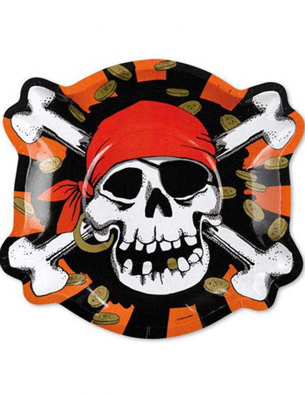 Photo du produit 6 Assiettes Pirates