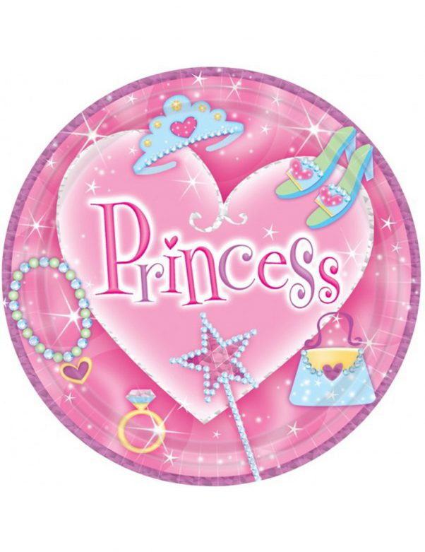 Photo du produit 8 Assiettes princesse
