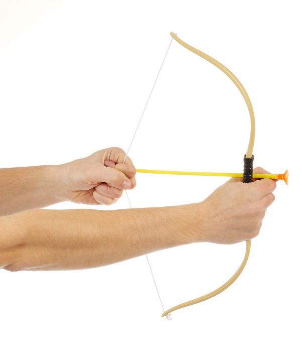 Photo du produit Arc avec 3 flèches enfant en plastique