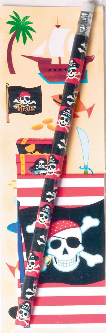 Photo du produit Kit papeterie Pirate