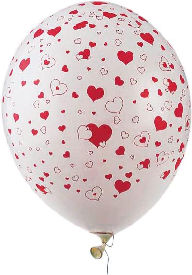 Photo du produit 50 Ballons coeurs