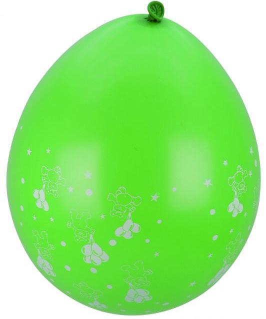 Photo du produit 8 Ballons verts motifs petits nounours