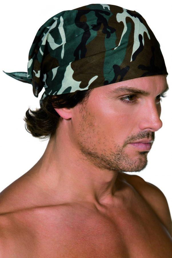 Photo du produit Bandana militaire camouflage adulte