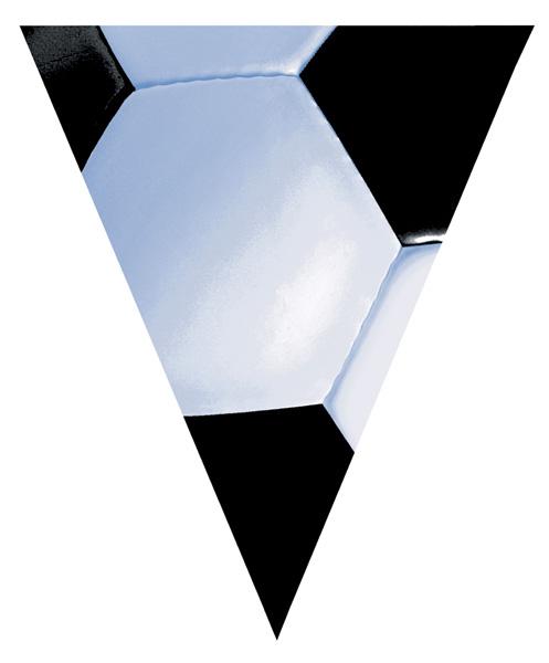 Photo du produit Bannière de fête football