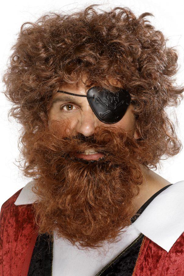 Photo du produit Barbe pirate marron homme