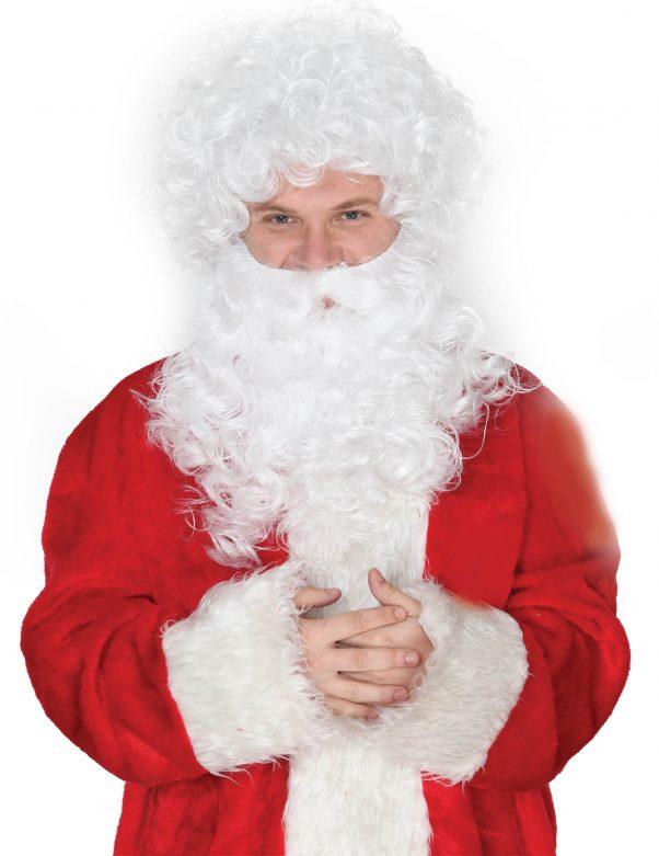 Photo du produit Barbe et perruque du père Noël