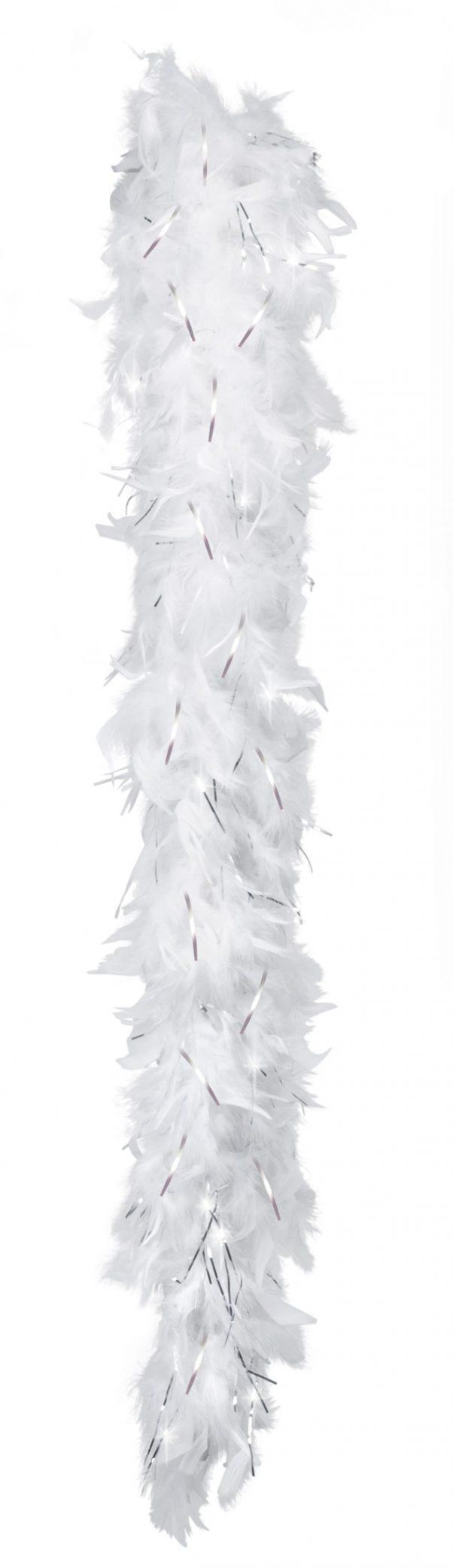 Photo du produit Boa blanc et argenté 50 g