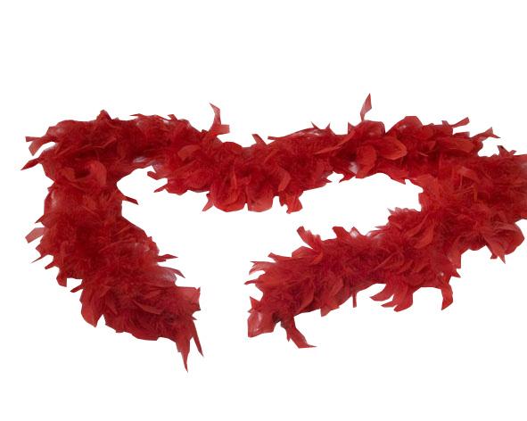 Photo du produit Boa rouge 100 cm