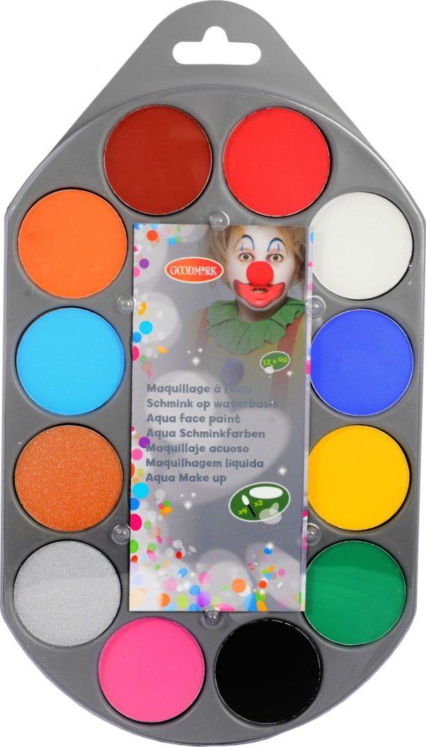 Photo du produit Boite familiale de maquillage à l'eau
