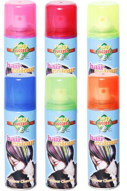 Photo du produit Bombe couleur fluo pour cheveux 125 ml