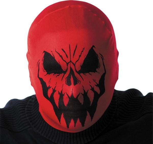 Photo du produit Cagoule monstre rouge adulte Halloween