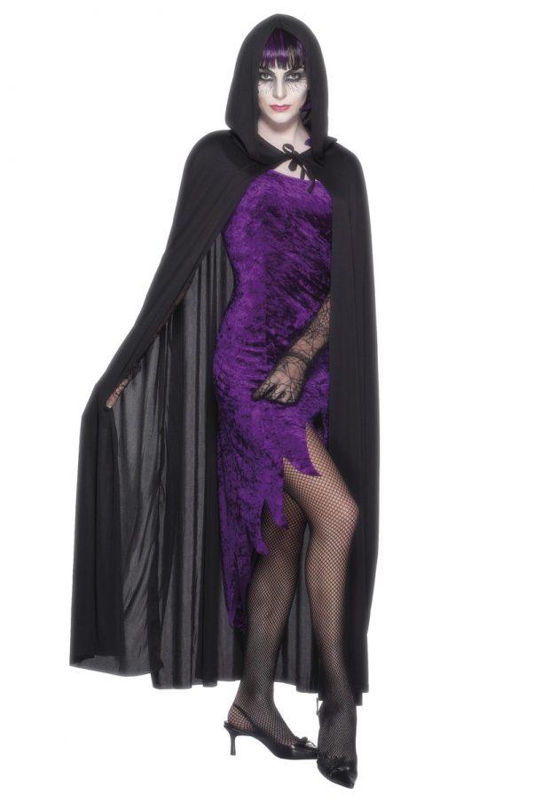 Photo du produit Cape vampire noire adulte Halloween