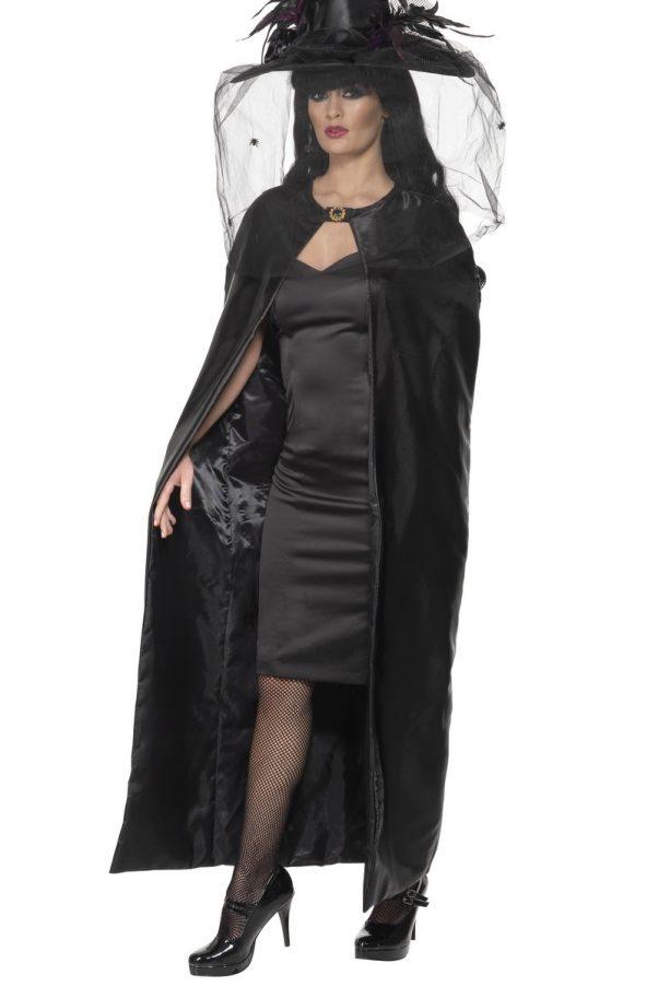 Photo du produit Cape sorcière noire adulte