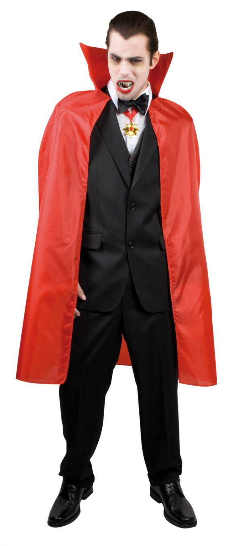 Photo du produit Cape vampire rouge homme 120 cm Halloween