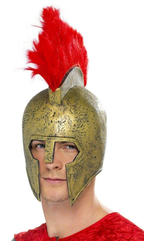 Photo du produit Casque gladiateur romain latex adulte