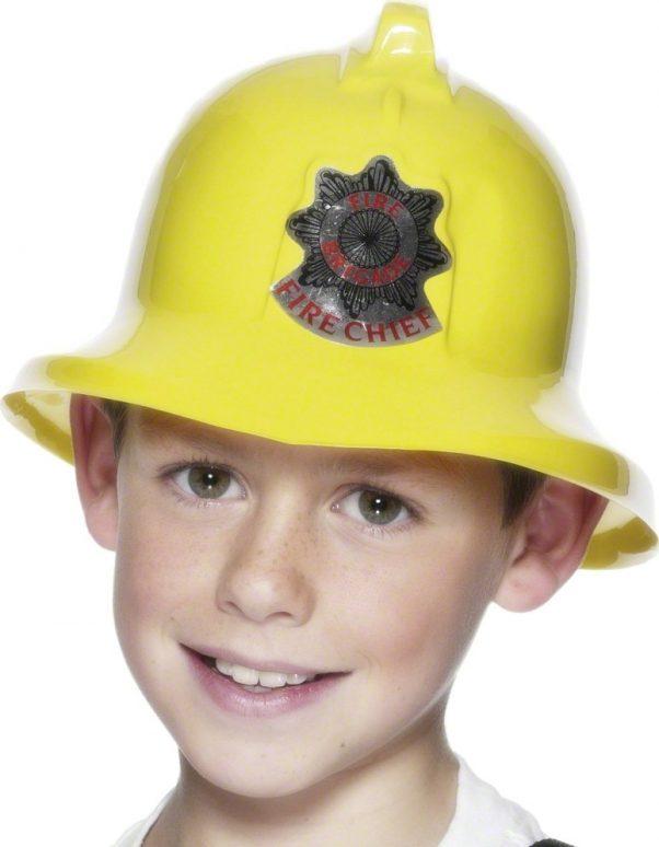 Photo du produit Casque pompier jaune