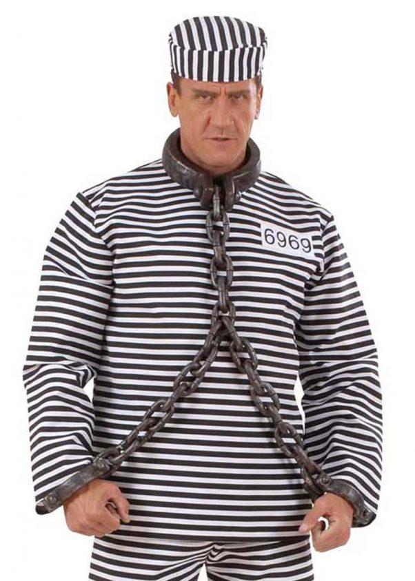Photo du produit Chaîne de prisonnier pour cou et poignets