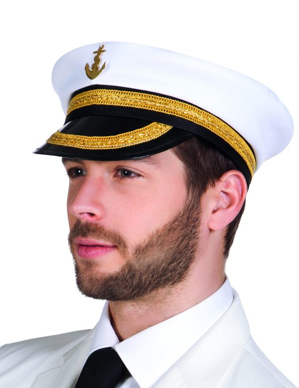 Photo du produit Chapeau capitaine marin adulte