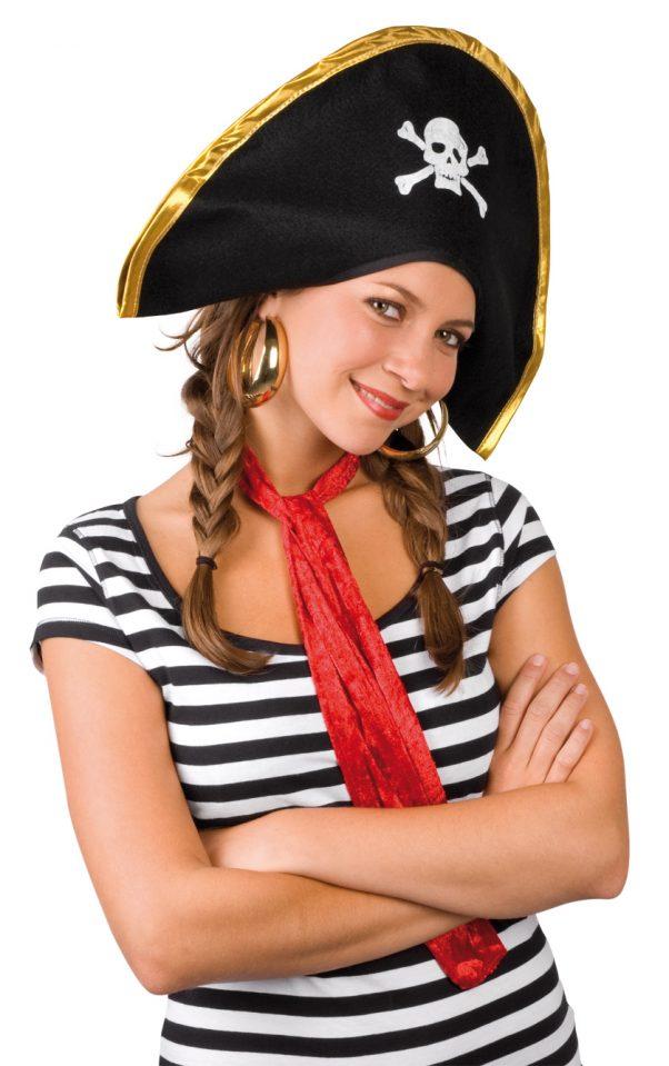 Photo du produit Chapeau chef des pirates adulte