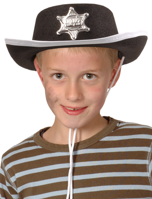 Photo du produit Chapeau cowboy noir enfant