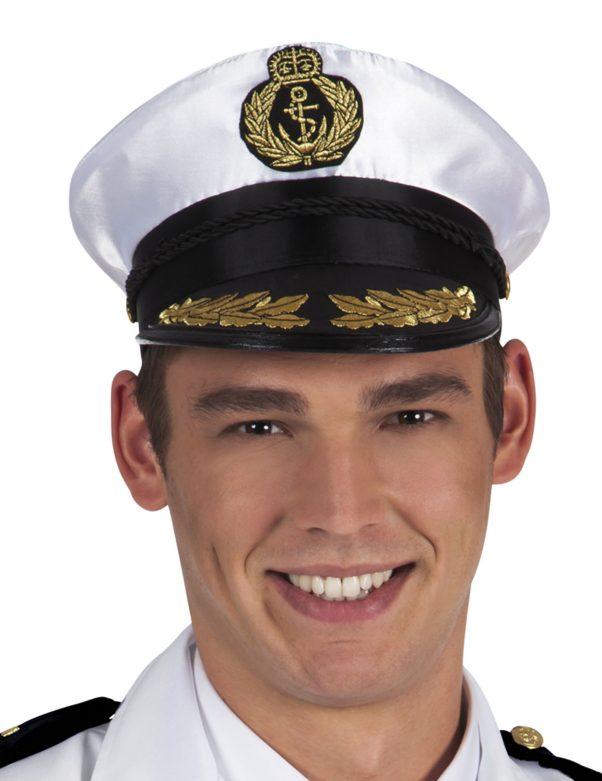 Photo du produit Chapeau de capitaine marin adulte