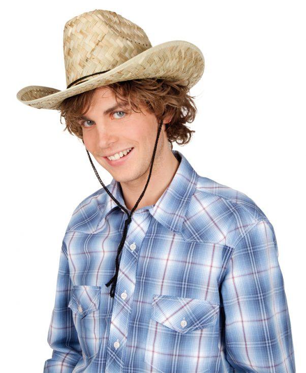 Photo du produit Chapeau paille Dallas Bull adulte