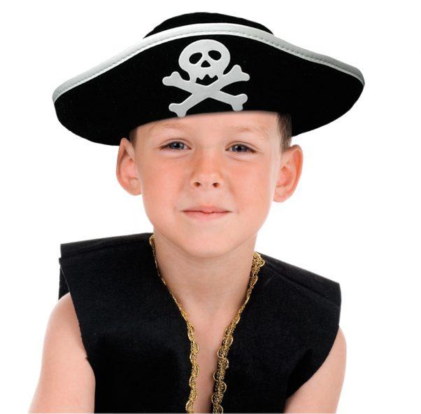 Photo du produit Chapeau pirate crâne enfant