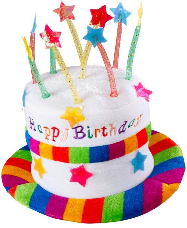 Photo du produit Chapeau happy birthday adulte