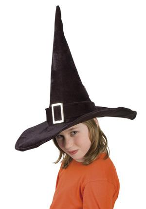 Photo du produit Chapeau sorcière enfant Halloween