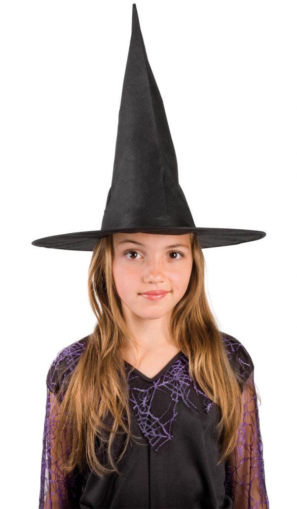 Photo du produit Chapeau sorcière noir enfant halloween