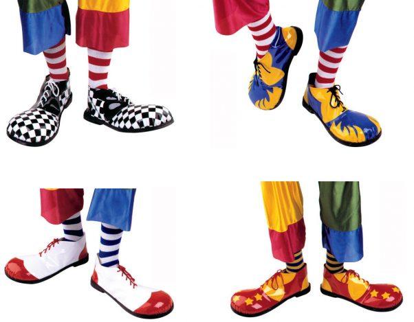 Photo du produit Chaussures clown luxe adulte