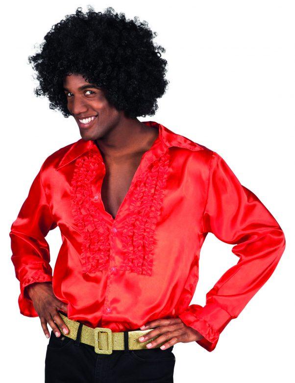 Photo du produit Chemise disco rouge homme