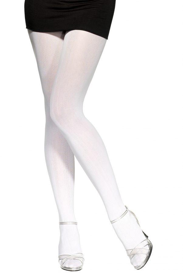 Photo du produit Collants opaques blancs adulte
