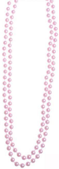 Photo du produit Collier perles roses