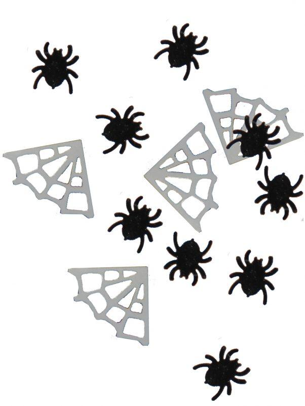Photo du produit Confettis table araignées toiles Halloween