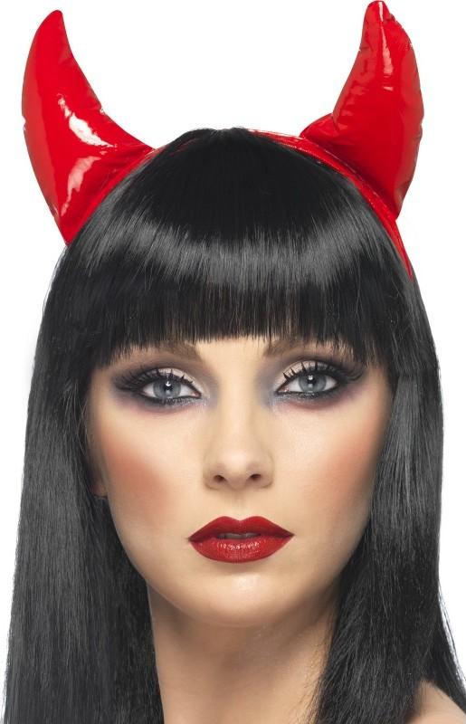 Photo du produit Cornes diable rouge adulte Halloween