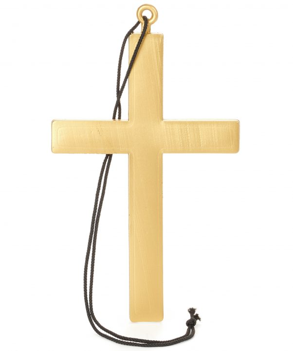 Photo du produit Collier croix de moine or