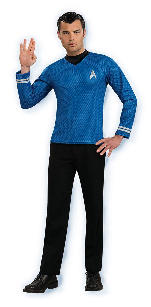 Photo du produit Déguisement bleu Spock Star Trek homme
