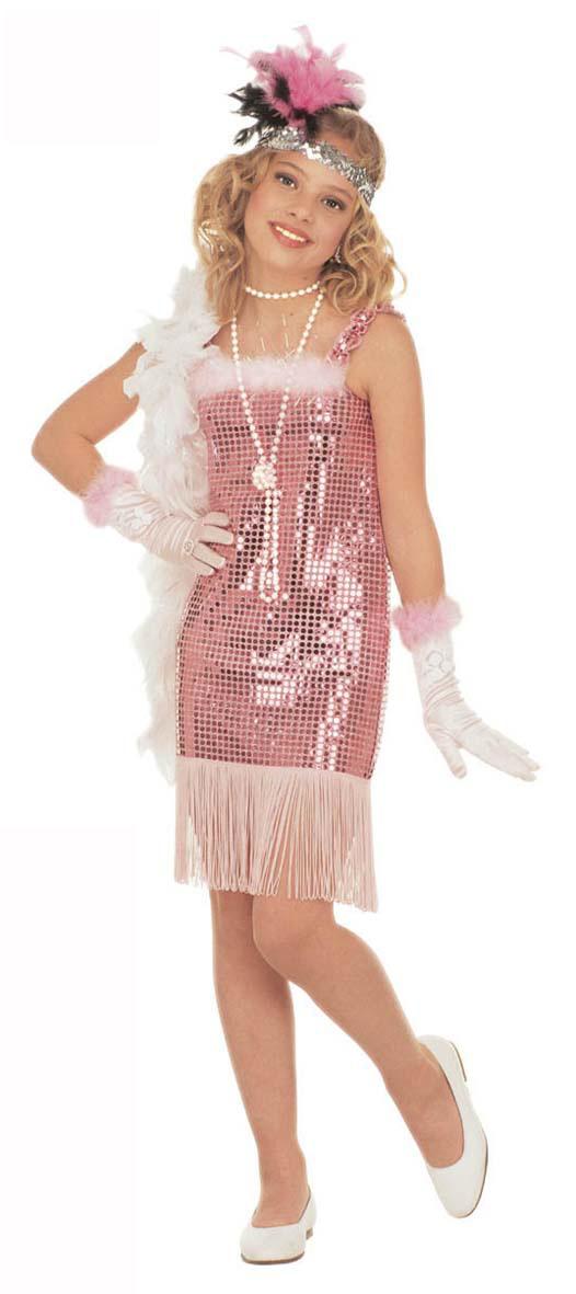 Photo du produit Déguisement cabaret rose Marilyn fille