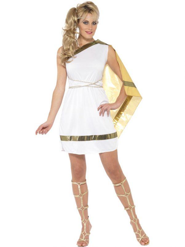 Photo du produit Déguisement déesse romaine avec cape femme