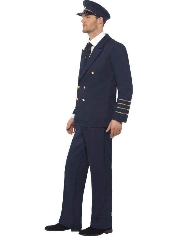 Photo du produit Déguisement pilote de ligne homme