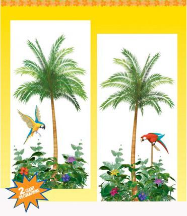 Photo du produit Décorations murales palmiers