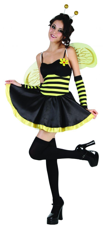 Photo du produit Déguisement abeille femme à fleur