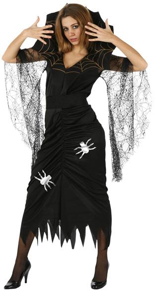 Photo du produit Déguisement sorcière araignée femme