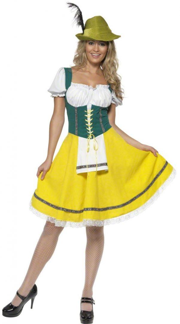 Photo du produit Déguisement bavaroise jaune femme