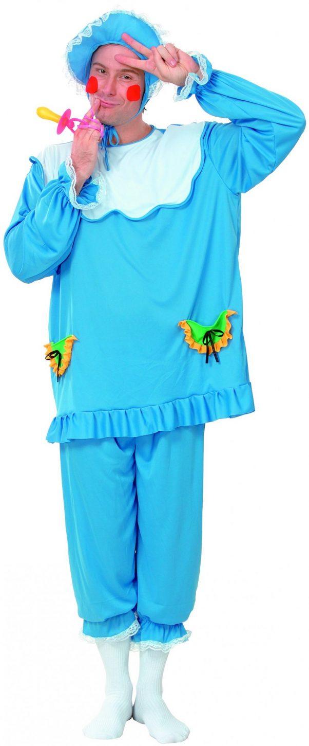 Photo du produit Déguisement bébé bleu homme